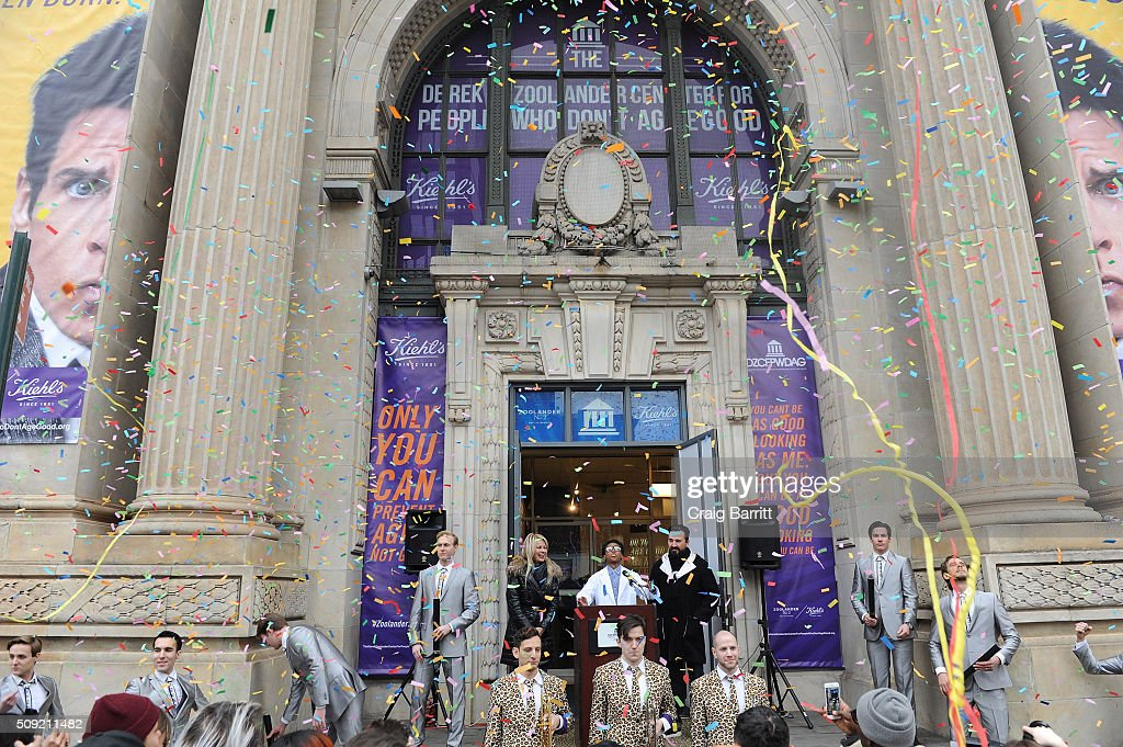 Kiehl's store during Kiehl's Zoolander Center Opening on February 9, 2016 in New York City.