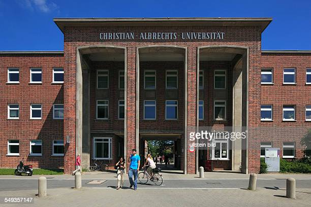 Kiel ChristianAlbrechts University Campus main building gateway entrance