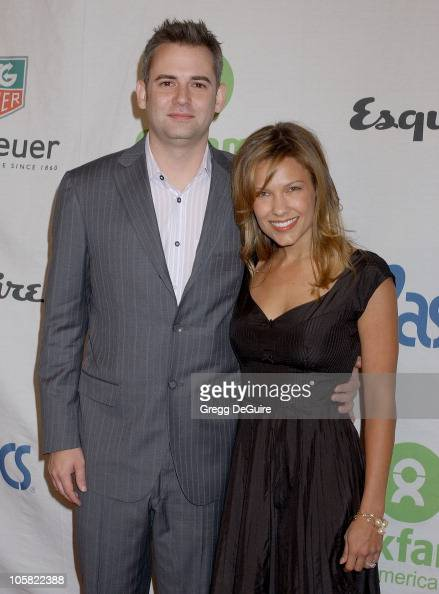 Kiele Sanchez and Zach Helm during Esquire House 360 Hosts Annual Cocktail Party for Oxfam Arrivals at Esquire House 360 in Beverly Hills California...