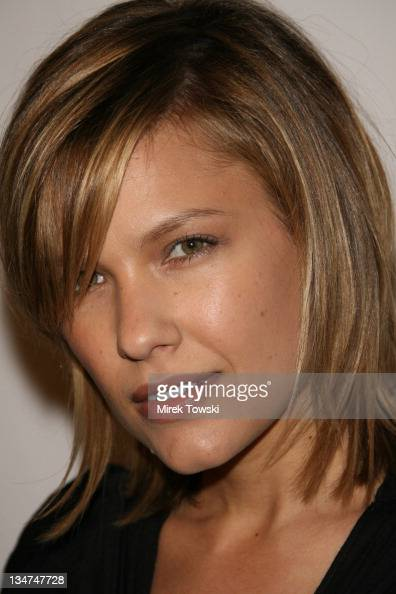 Kiele Sanchez during 'In2TV' AOL and Warner Bros broadband network launch party at The Museum of Television Radio in Beverly Hills California United...