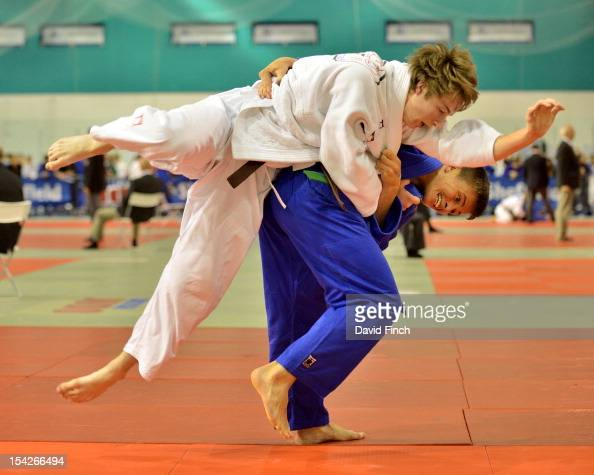 Kier Hetherington defeated Joseph Fowler from Kendal with this wazari throw in extra time in the 66kgs repercharge at the British Cadet and PreCadet...