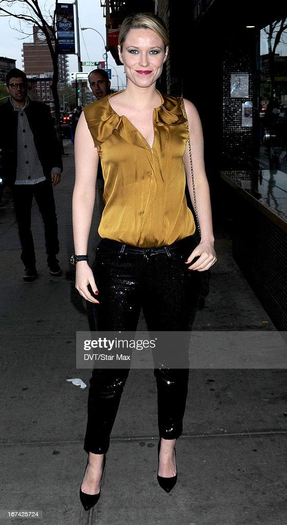 Kiera Chaplin as seen on April 24, 2013 in New York City.