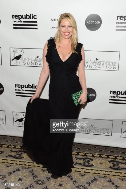 Kiera Chaplin attends the 2013 Amy Winehouse Foundation Inspiration Awards and Gala at The Waldorf=Astoria on March 21 2013 in New York City