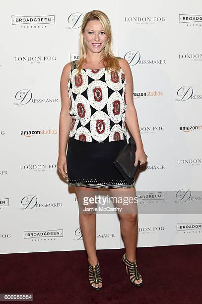 Kiera Chaplin attends 'The Dressmaker' New York Screening at Florence Gould Hall Theater on September 16 2016 in New York City