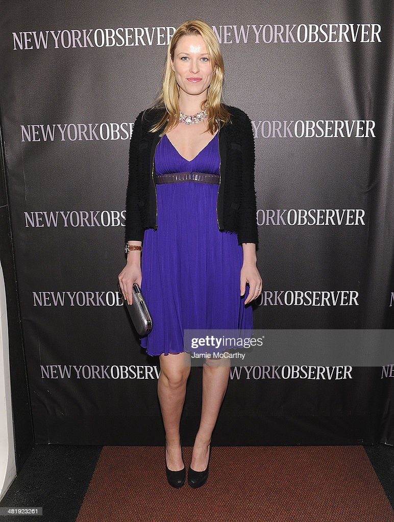 Kiera Chaplin attends The New York Observer Relaunch Event on April 1, 2014 in New York City.