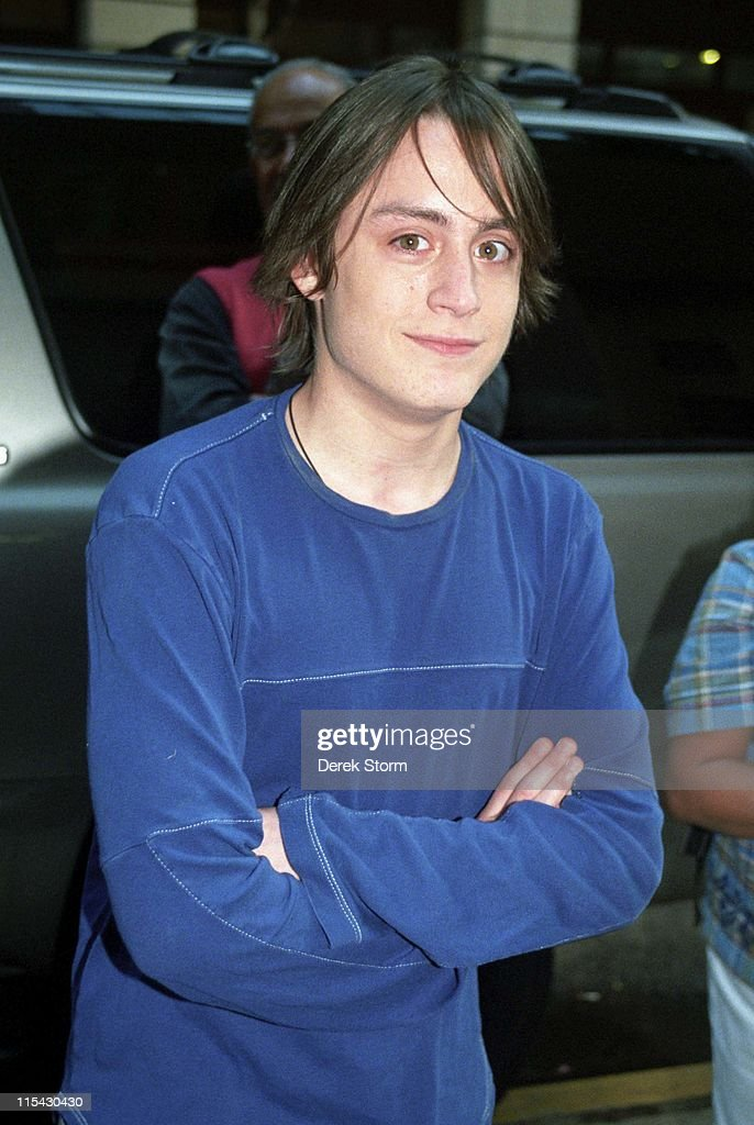 Kieran Culkin during Kieran Culkin appears on 'Good Morning America' - September 19, 2002 at Times Square in New York City, New York, United States.