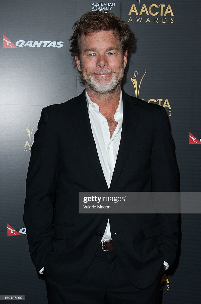 <a gi-track='captionPersonalityLinkClicked' href=/galleries/search?phrase=Kieran+Darcy-Smith&family=editorial&specificpeople=2235633 ng-click='$event.stopPropagation()'>Kieran Darcy-Smith</a> arrives at Australian Academy Of Cinema And Television Arts' 2nd AACTA International Awards at Soho House on January 26, 2013 in West Hollywood, California.