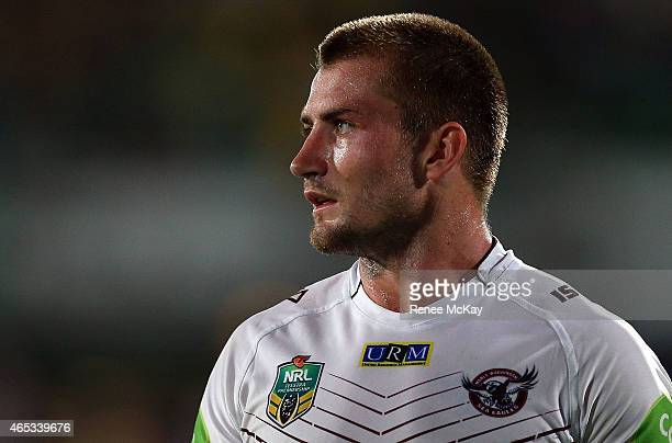 Kieran Foran of the Sea Eagles leaves the field during the round one NRL match between the Parramatta Eels and the Manly Sea Eagles at Pirtek Stadium...