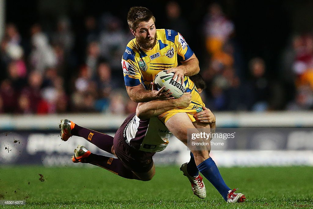 <a gi-track='captionPersonalityLinkClicked' href=/galleries/search?phrase=Kieran+Foran&family=editorial&specificpeople=5985869 ng-click='$event.stopPropagation()'>Kieran Foran</a> of the Sea Eagles runs the ball during the round 21 NRL match between the Manly-Warringah Sea Eagles and the Brisbane Broncos at Brookvale Oval on August 1, 2014 in Sydney, Australia.