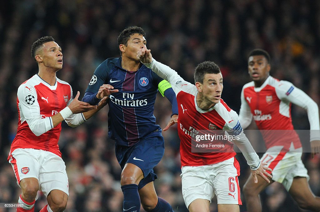 Arsenal v Paris Saint Germain - Champions League : News Photo