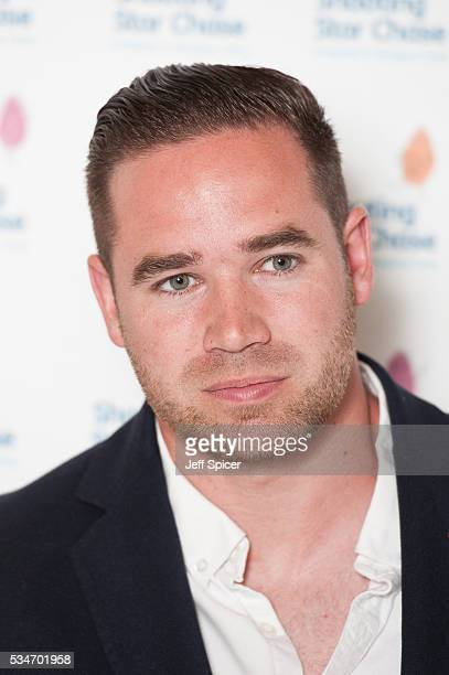 Kieran Hayler arrives for Star Chase Children's Hospice Event at The Dorchester on May 27 2016 in London England