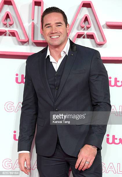 Kieran Hayler attends the ITV Gala at London Palladium on November 24 2016 in London England