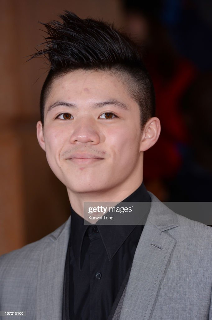 Kieran Lai attends the UK Premiere of 'All Stars' at Vue West End on April 22, 2013 in London, England.