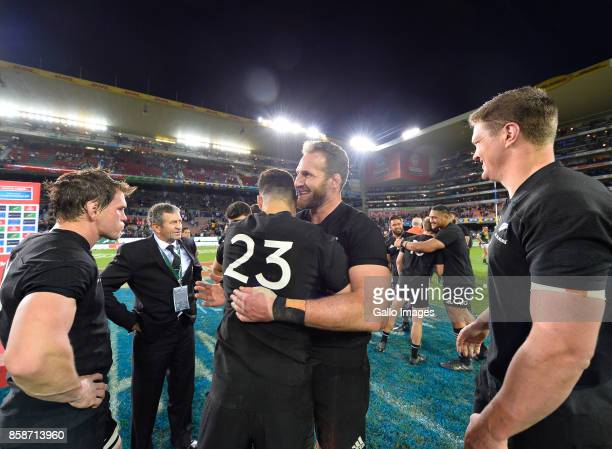 Kieran Read of New Zealand after the Rugby Championship 2017 match between South Africa and New Zealand at DHL Newlands on October 07 2017 in Cape...