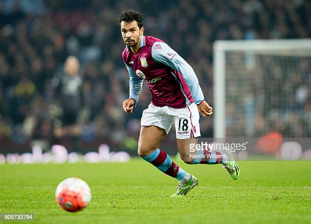 Kieran Richardson of Aston Villa during the FA Cup Third Round Relay match between Aston Villa and Wycombe Wanderers at Villa Park on January 19 2016...