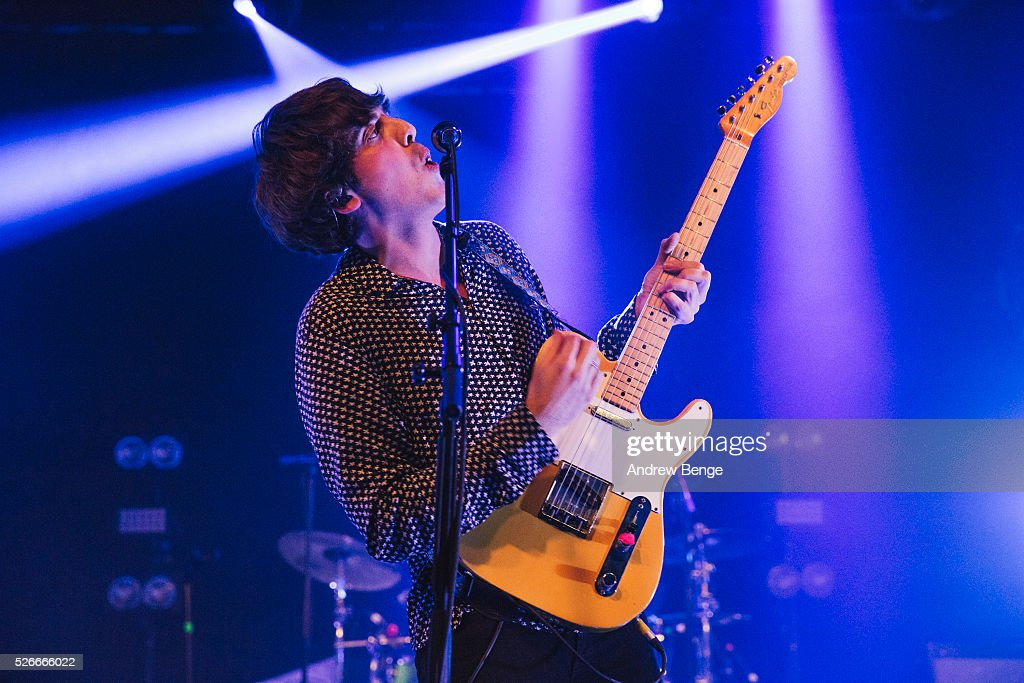 Kieran Shudall of Circa Waves performs at The Refectory during Live At Leeds on April 30, 2016 in Leeds, England.