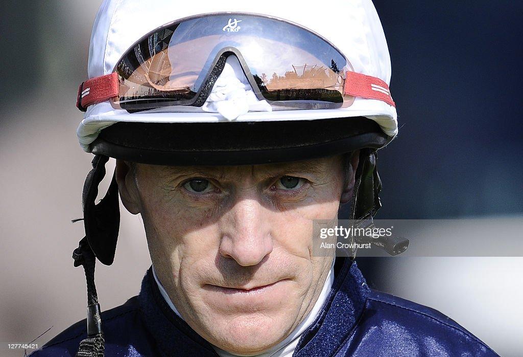 Kieren Fallon at Ascot racecourse on October 01 2011 in Ascot England