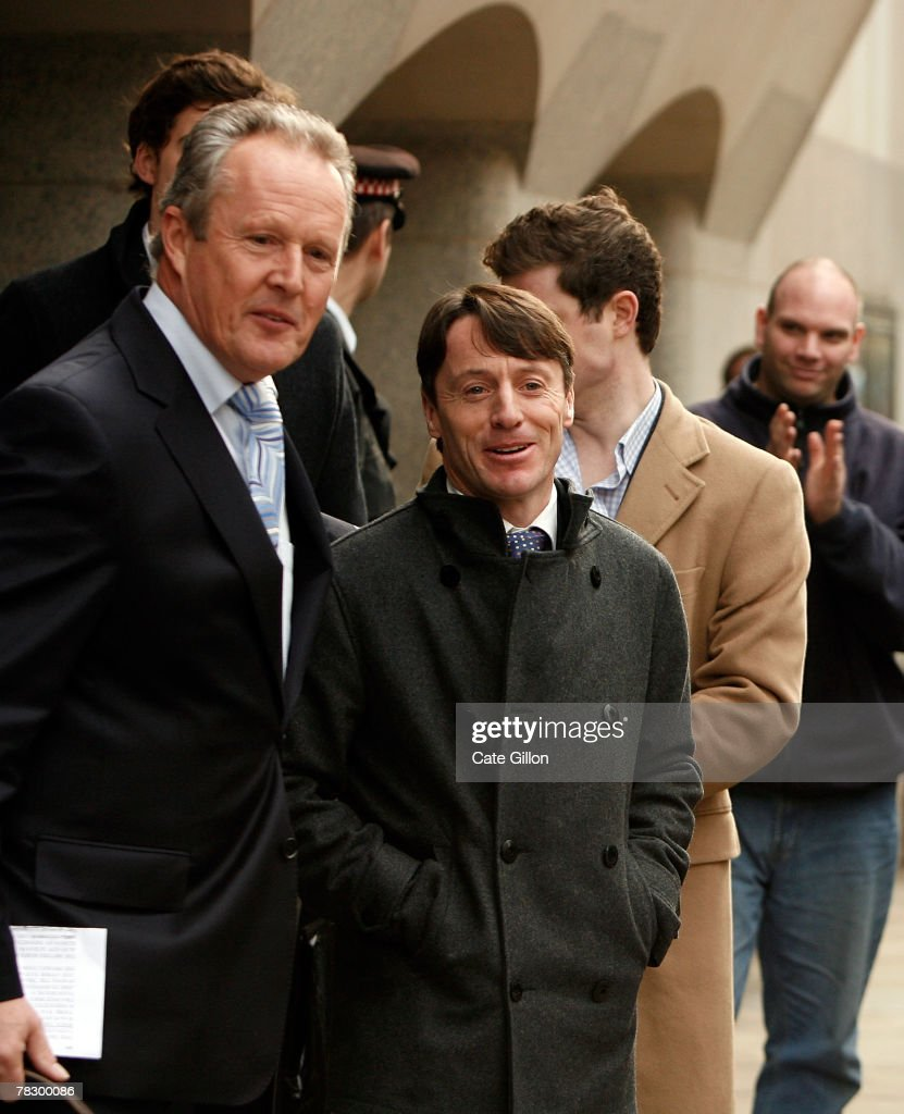 Kieren Fallon leaves the Central Criminal Court on December 7 2007 in London England Fallon and two other jockeys have been cleared of race fixing as...