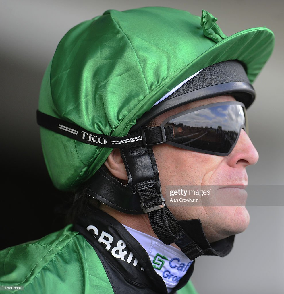 <a gi-track='captionPersonalityLinkClicked' href=/galleries/search?phrase=Kieren+Fallon&family=editorial&specificpeople=198970 ng-click='$event.stopPropagation()'>Kieren Fallon</a> poses at Ascot racecourse on August 10, 2013 in Ascot, England.