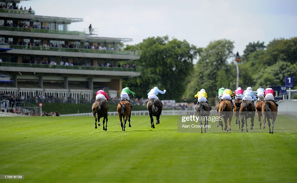 <a gi-track='captionPersonalityLinkClicked' href=/galleries/search?phrase=Kieren+Fallon&family=editorial&specificpeople=198970 ng-click='$event.stopPropagation()'>Kieren Fallon</a> riding Homeric (2L) win The Redcentric Shergar Cup Stayersat Ascot racecourse on August 10, 2013 in Ascot, England.