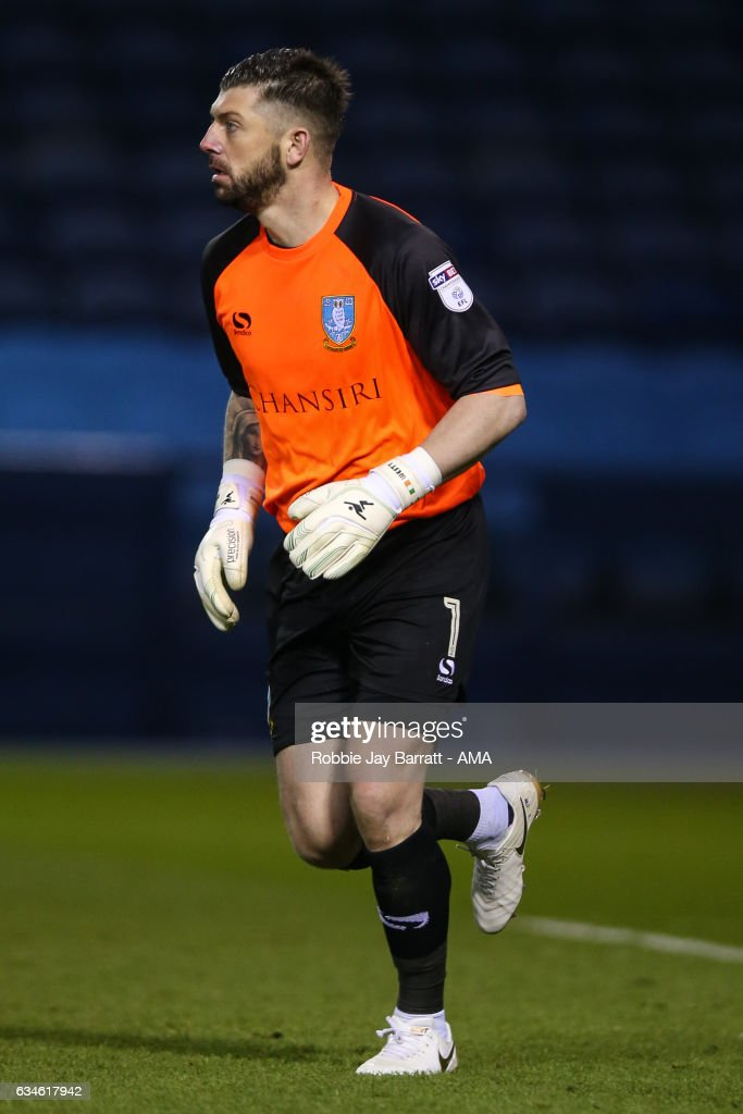 Kieren Westwood of Sheffield Wednesday during the Sky Bet Championship match between Sheffield Wednesday and Birmingham City at Hillsborough on February 10, 2017 in Sheffield, England.