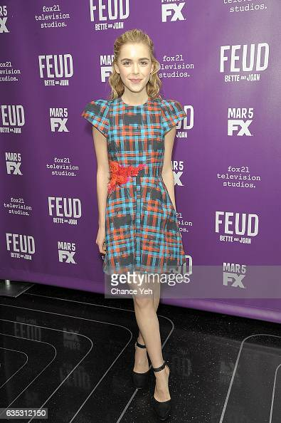Kiernan Shipka attends 'Feud' Tastemaker lunch at The Rainbow Room on February 14 2017 in New York City