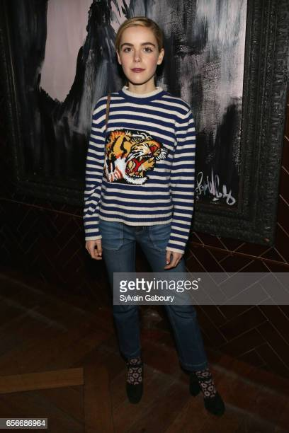 Kiernan Shipka attends the after party for 'The Blackcoat's Daughter' hosted by The Cinema Society A24 and DirecTV on March 22 2017 in New York City