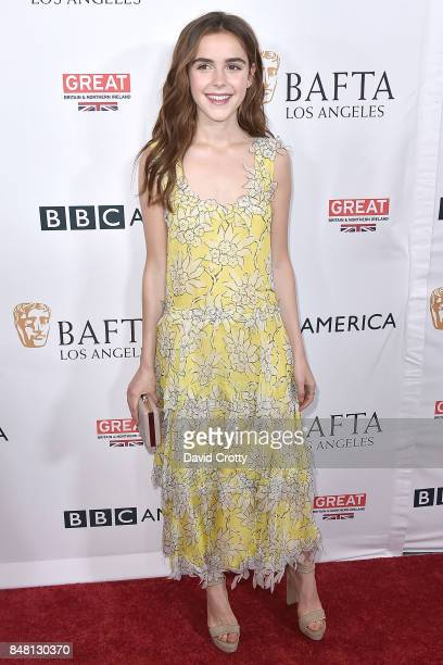 Kiernan Shipka attends the BBC America BAFTA Los Angeles TV Tea Party 2017 Arrivals at The Beverly Hilton Hotel on September 16 2017 in Beverly Hills...