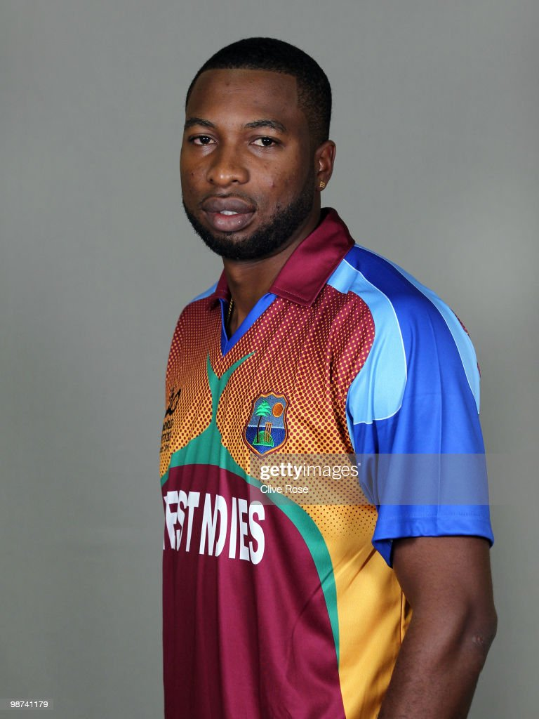 Kieron Pollard of West Indies poses during a portrait session ahead of the ICC T20 World Cup at the Pegasus Hotel on April 26, 2010 in Georgetown, Guyana.