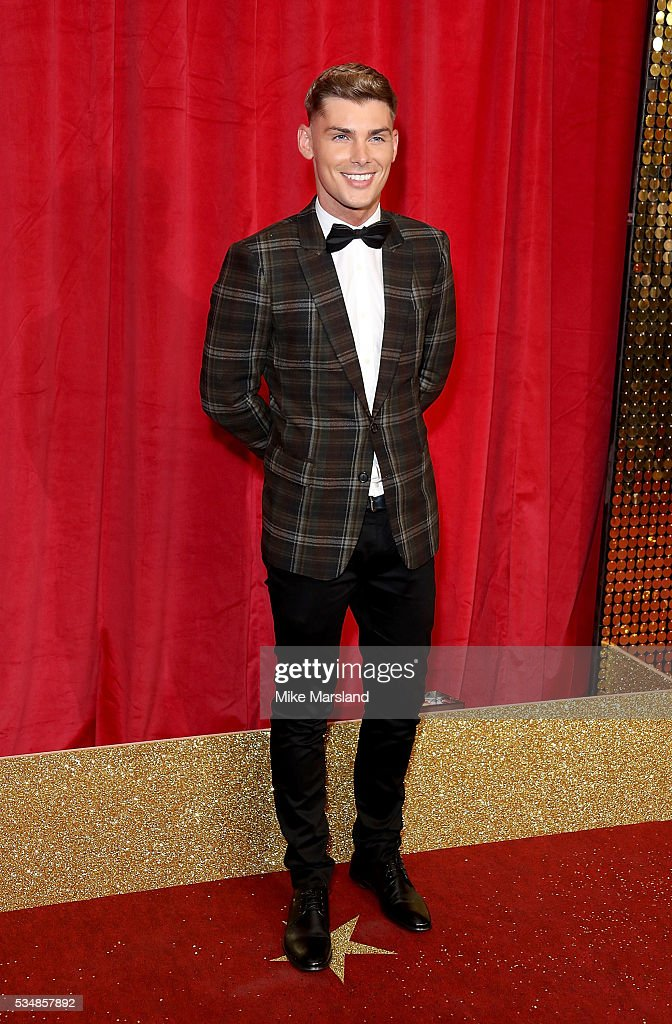 Kieron Richardson attends the British Soap Awards 2016 at Hackney Empire on May 28, 2016 in London, England.