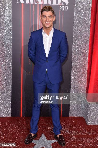 Kieron Richardson attends The British Soap Awards at The Lowry Theatre on June 3 2017 in Manchester England The Soap Awards will be aired on June 6...