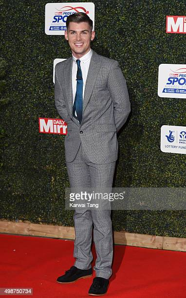 Kieron Richardson attends the Daily Mirror Pride Of Sport Awards at Grosvenor House on November 25 2015 in London United Kingdom