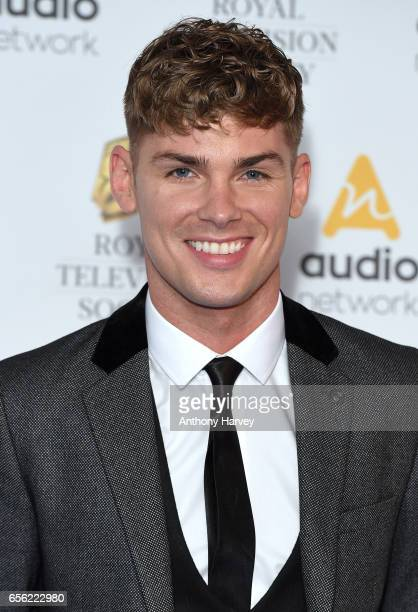 Kieron Richardson attends the Royal Television Society Programme Awards on March 21 2017 in London United Kingdom