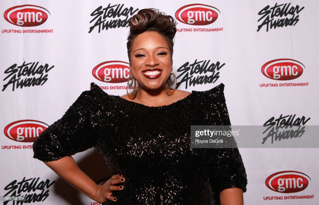 Kierra Sheard attends the 28th Annual Stellar Awards at Grand Ole Opry House on January 19, 2013 in Nashville, Tennessee.