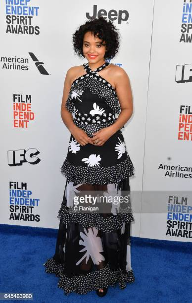 Kiersey Clemons attends the 2017 Film Independent Spirit Awards at the Santa Monica Pier on February 25 2017 in Santa Monica California