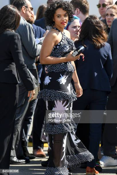Kiersey Clemons is seen at the Spirit Awards on February 26 2017 in Los Angeles California