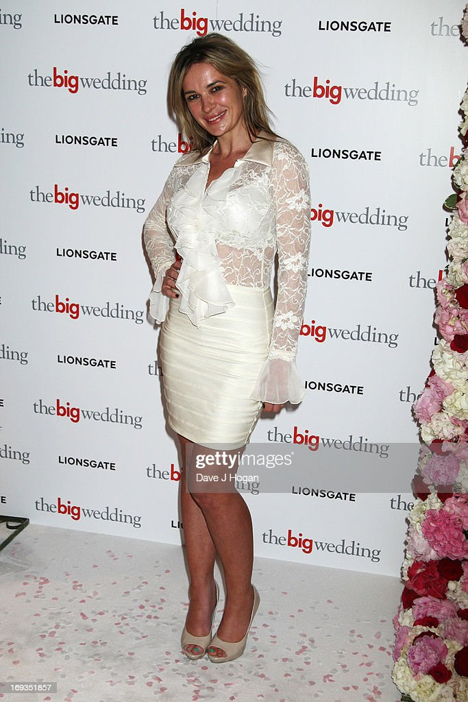 Kierston Waering attends a special screening of 'The Big Wedding' at The Mayfair Hotel on May 23, 2013 in London, England.