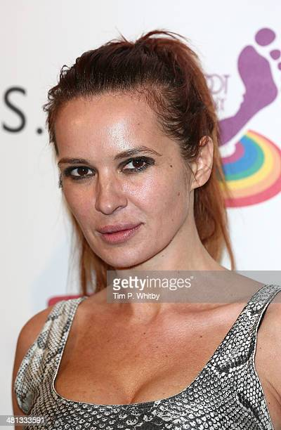 Kierston Wareing attends the 20th birthday party of Attitude Magazine at The Grosvenor House Hotel on March 29 2014 in London England