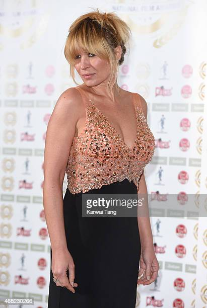 Kierston Wareing attends the National Film Awards at Porchester Hall on March 31 2015 in London England