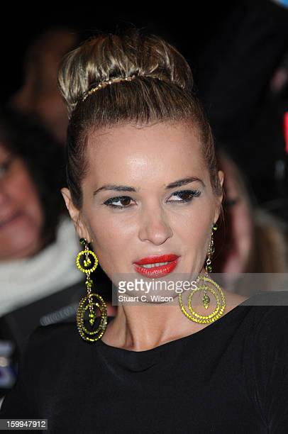 Kierston Wareing attends the National Television Awards at 02 Arena on January 23 2013 in London England