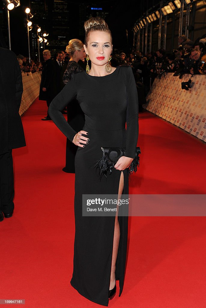 Kierston Wareing attends the the National Television Awards at 02 Arena on January 23, 2013 in London, England.