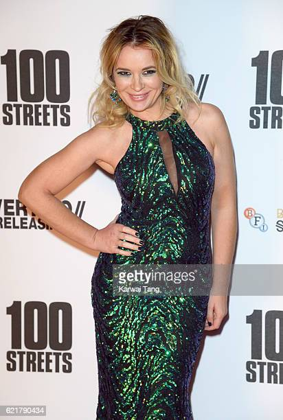 Kierston Wareing attends the UK premiere of '100 Streets' on November 8 2016 at BFI Southbank in London United Kingdom