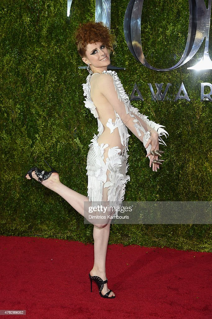 Kiesza attends the 2015 Tony Awards at Radio City Music Hall on June 7 2015 in New York City