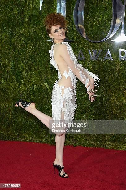 Kiesza attends the 2015 Tony Awards at Radio City Music Hall on June 7 2015 in New York City