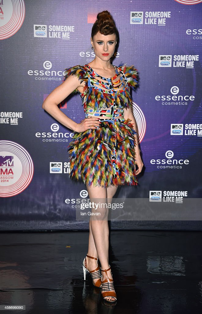 Kiesza attends the MTV EMA's 2014 at The Hydro on November 9 2014 in Glasgow Scotland