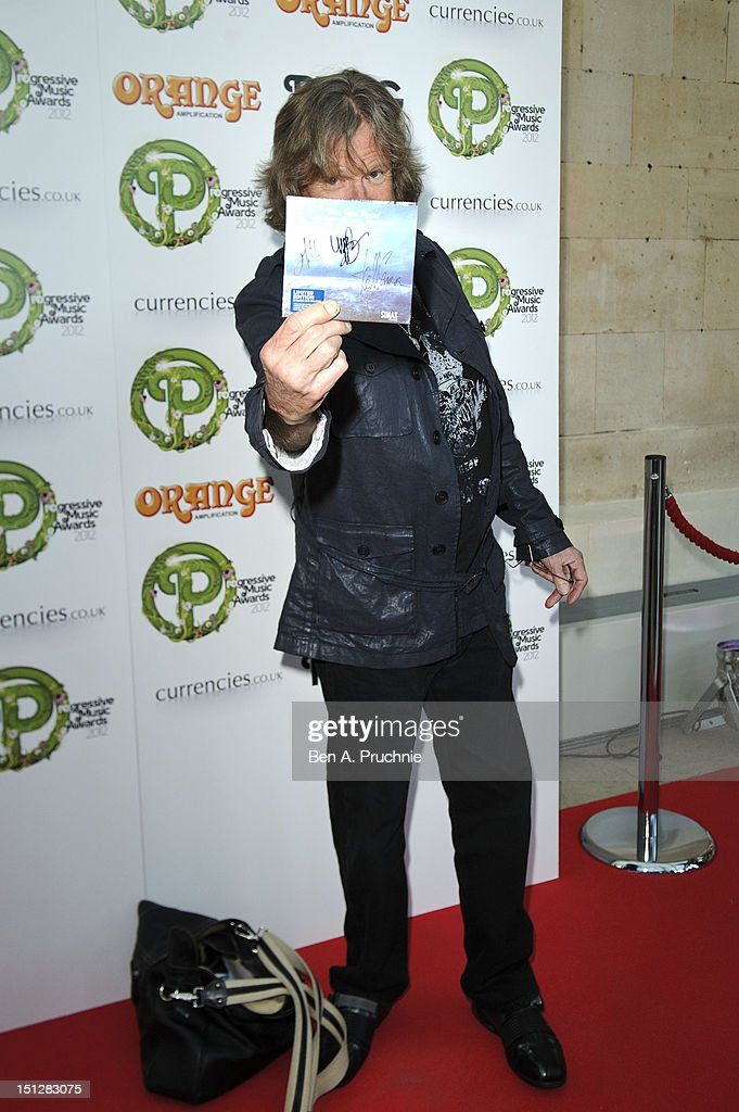 Kieth Emerson attends the Progressive Music Awards at Kew Gardens on September 5, 2012 in London, England.