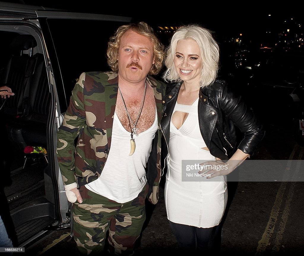 Kieth Lemon and <a gi-track='captionPersonalityLinkClicked' href=/galleries/search?phrase=Kimberly+Wyatt&family=editorial&specificpeople=678958 ng-click='$event.stopPropagation()'>Kimberly Wyatt</a> sighting at Funky Buddha Club, Mayfair on May 10, 2013 in London, England.