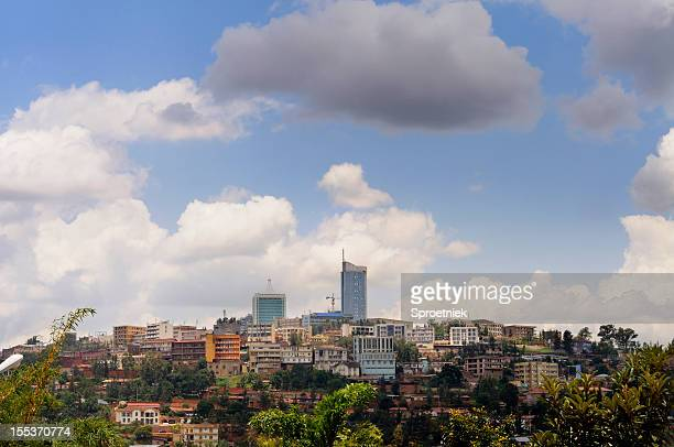 Kigali central business district skyline