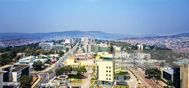 Kigali City Panorama