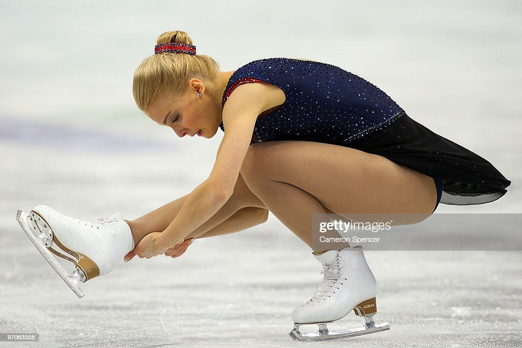 Kiira Korpi of Finland competes in the Ladies Free Skating on day 14 of the 2010 Vancouver Winter Olympics at Pacific Coliseum on February 25, 2010 in Vancouver, Canada.